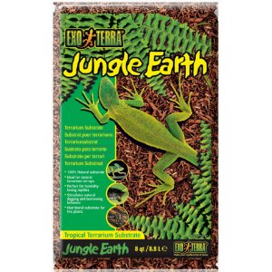 Exoterra Jungle earth substrato naturale